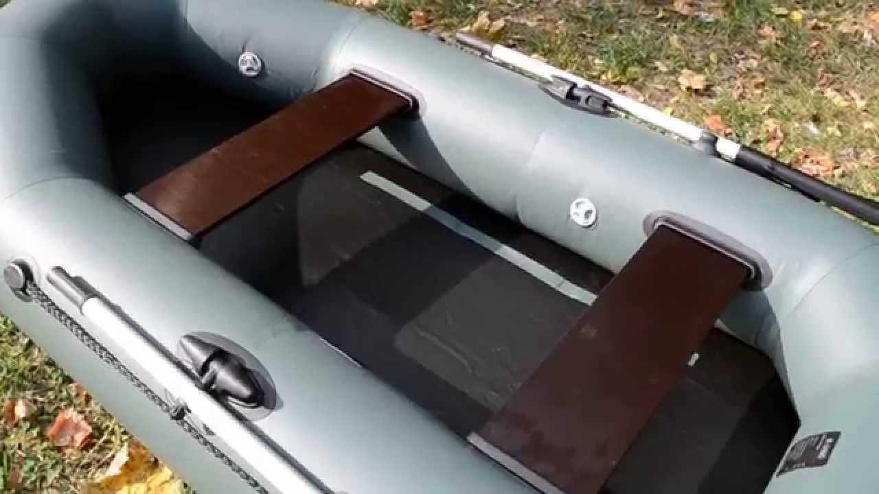 Резиновая лодка Байкал 2-местная Вес 12 кг - YouTube