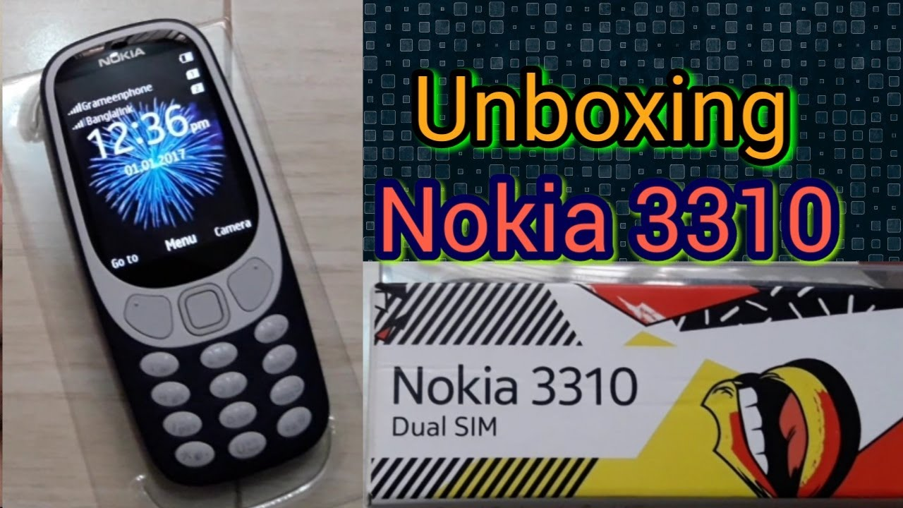 Unboxing Original Nokia 3310 Phone || 3310 Nokia Phone Review || Presented By Always Bangladesh