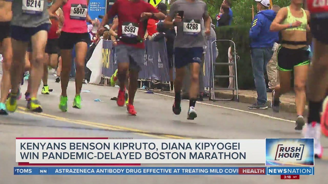 Changed race, familiar result: Kenyans sweep Boston Marathon