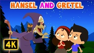 Hansel and Gretel | Bedtime Stories (HD) | Top Rated story for Kids | + Moral Stories & Fairy Tales