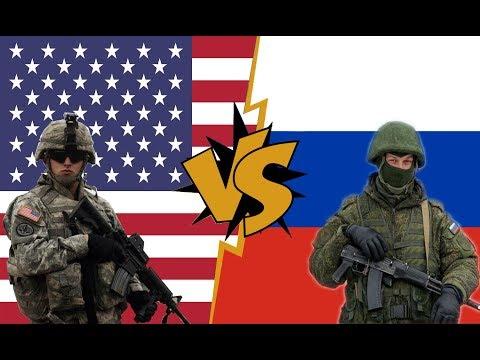 США Vs РОССИЯ ① Сравнение военных потенциалов - НОВАЯ ИНФОРМАЦИЯ 2019