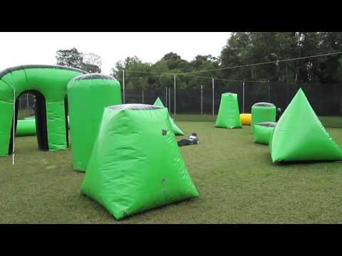 Brunei Paintball Center at Jerudong Sport Complex full footage