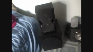 computer subwoofer - speakers- BASS BOOM