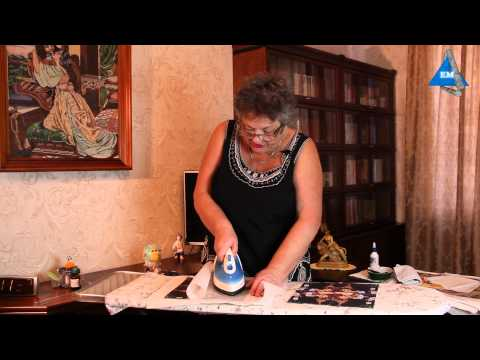 Как рисунок перенести на ткань в домашних условиях