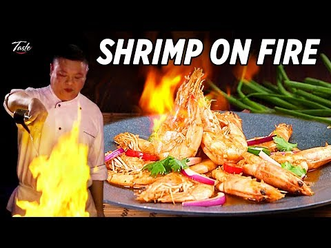Cooking Delicious Shrimp Stir Fry  • Taste The Chinese Recipes Show