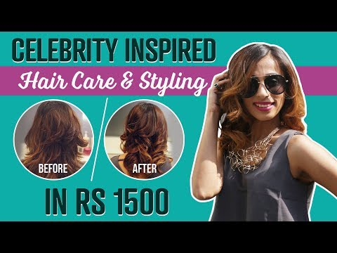 Celebrity inspired hair care & styling in Rs. 1500 | Beauty | Fashion | Pinkvilla