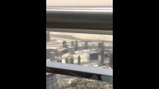 Dubai / At The Top SKY / Burj Khalifa & enjoying the view & atmosphere on LEVEL 148 - 04/05/15