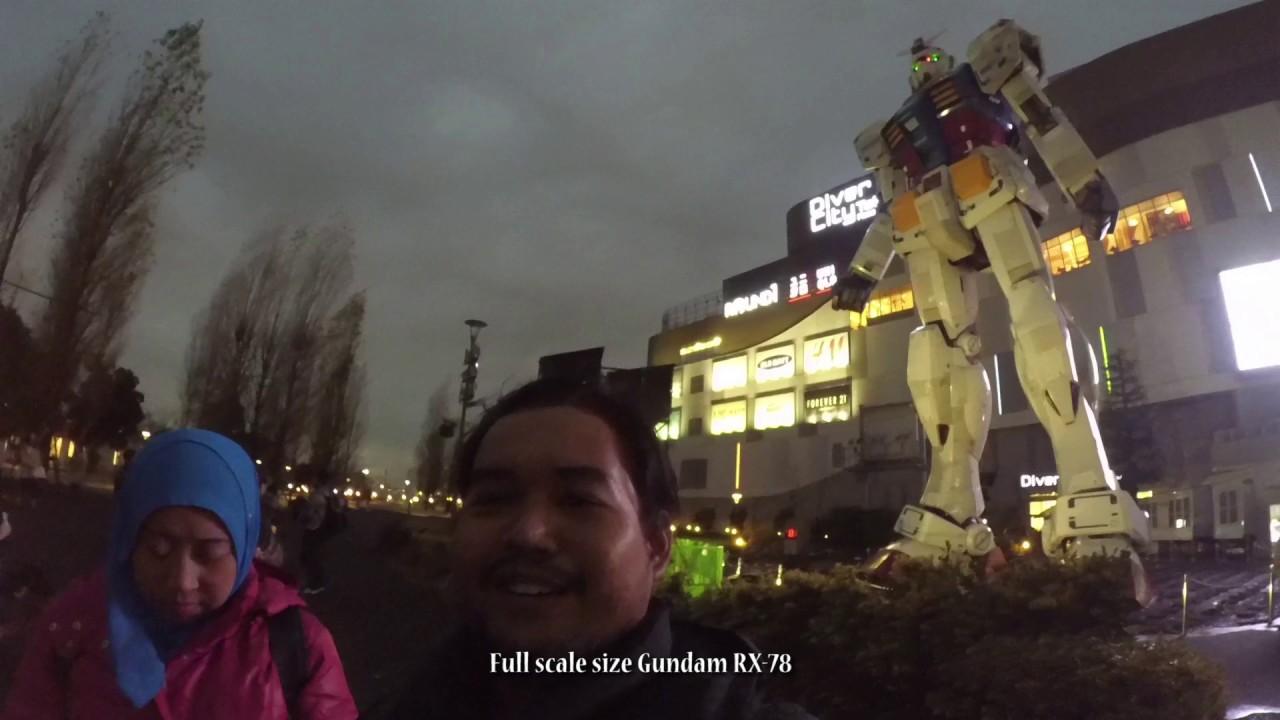 Japan Trip Episode  Tokyo Sky Tree Odaiba Full Scale Gundam Rx