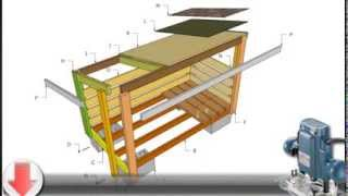Storage Shed Plans - Build A Firewood Storage Shed