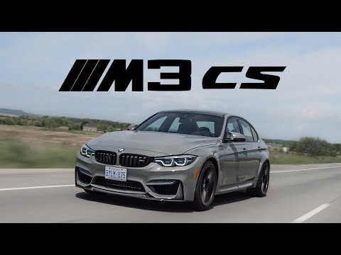 2018 BMW M3 CS Review - The Best M3