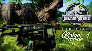 JURASSIC TRUCK TOUR FINISHED! | Botanical Gardens Reborn (Jurassic World: Evolution)