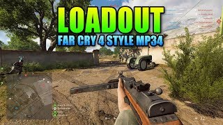 Loadout MP34 Far Cry 4 Style   Battlefield 5 Medic Gameplay