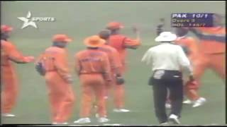 1996 Cricket World Cup - Pakistan v The Netherlands - Highlights