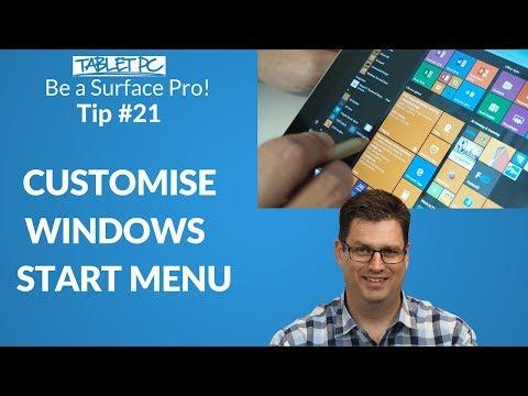 Customise your Windows Start Menu
