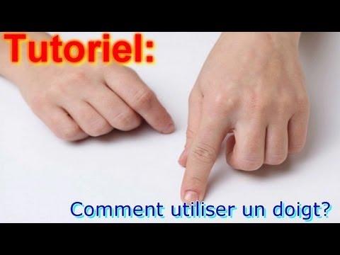 Tutoriel comment utiliser un doigt youtube - Comment utiliser un bidet ...