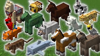 How To Tame AĻL Animals In Minecraft! - The Ultimate 1.16 Pet Guide