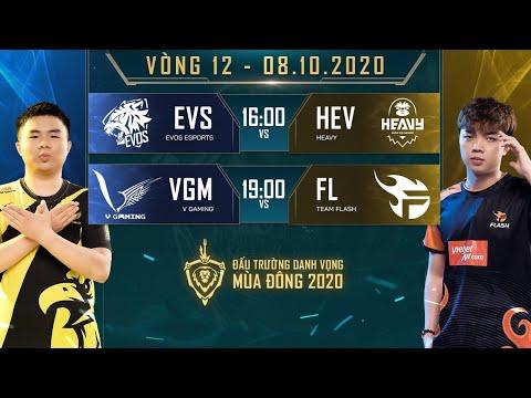 HEV có chiến thắng tuyệt đối, FL lật kèo ngoạn mục trước VGM - Vòng 12 Ngày 1 - ĐTDV mùa Đông 2020