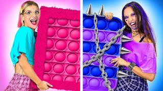 E-GAMER vs SOFT-GAMER - How to Be POPULAR in College | Funny Awkward Situations by La La Life Games screenshot 5
