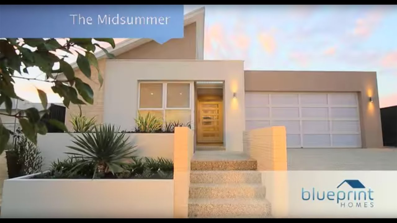 Blueprint homes the midsummer display home perth youtube malvernweather Choice Image