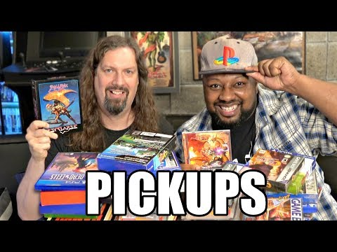 More GAME PICKUPS with Reggie - 34 Games w/ Gameplay footage!