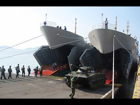 Những cuộc diễn tập lớn của HQVN trên Biển Đông (YTB-94)