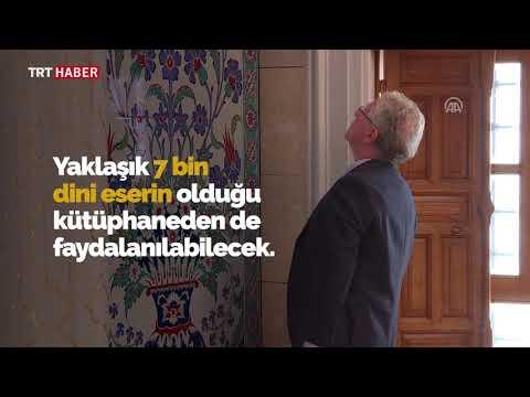 Ankara'ya değer katacak külliye tamamlanma aşamasına geldi