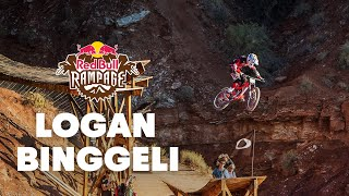Utah Local Logan Binggeli GoPro Finals Run - Red Bull Rampage 2015