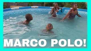 Swimming Pool FUN playing MARCO POLO!