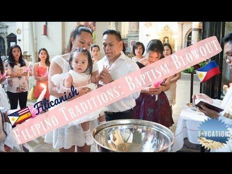 Filipino Tradition Baptism Blowout Homecoming Travel Vlog