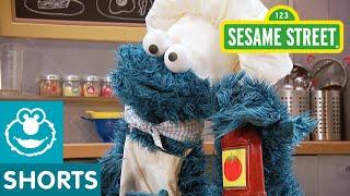 Sesame Street: Veggie Burger with Ketchup | Cookie Monster's Foodie Truck