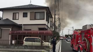 火事 2017.3/31 12:00頃 埼玉県 加須市 礼羽 火事 火災