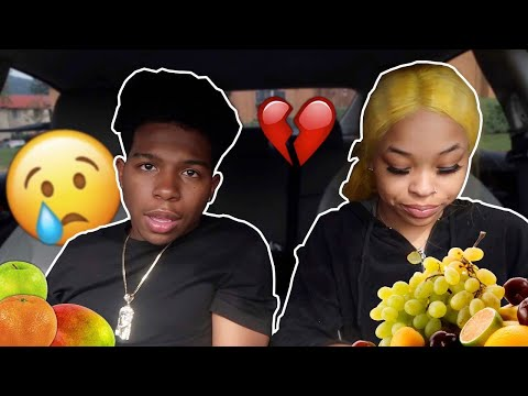 the reason why me and Kye haven't been doing videos together... *the truth* (fruit mukbang)
