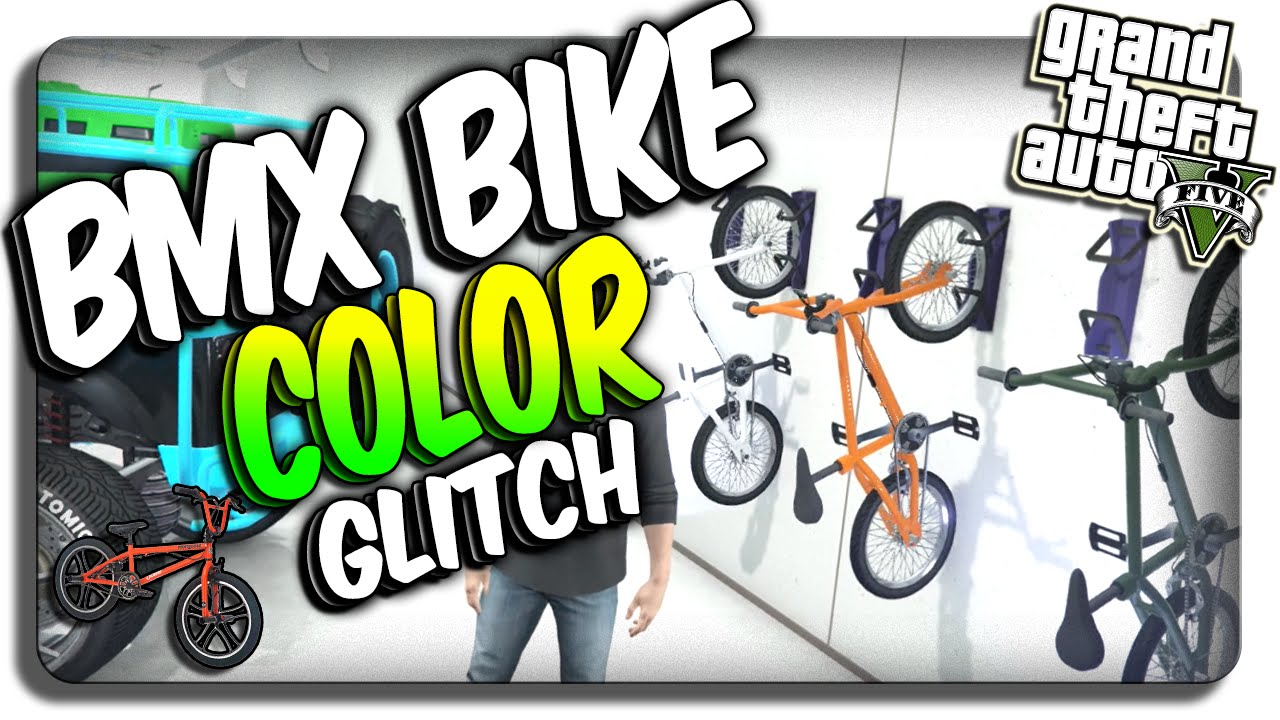 GTA 5: BMX Bike COLOR Change GLITCH! Change Color of BMX ...