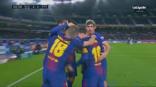 Real Sociedad vs Barcelona 2 4   All Goals & Extended Highlights   La Liga 14 01 2018 HD