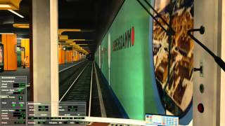 World of Subways 2 - U-Bahn Berlin U7 - Rathaus Spandau - Rudow im F-Zug