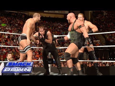 WWE Tag Team Championship No.1 Contenders Fatal Four Way Match: SmackDown, March 21, 2014