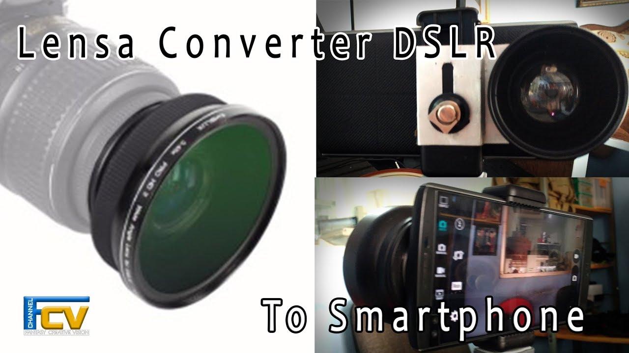 Lensa kamera hp terbaik converter wide macro dslr lens 52mm youtube