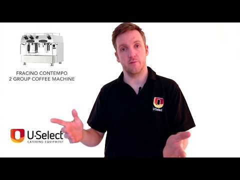 U-Select Catering Equipment Review - Fracino Contempo 2 Group Coffee Machine