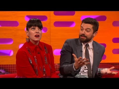 Dominic Cooper Gets Chased by Sperm in Condom Commercial  The Graham Norton  on BBC AMERICA