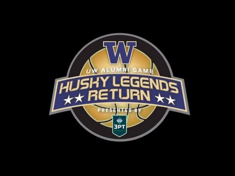 2013 UW Alumni Game Intro (Men's Basketball)