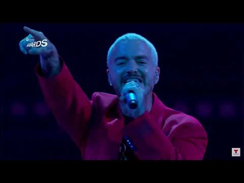 J Balvin (Spotify awards) Full Hd