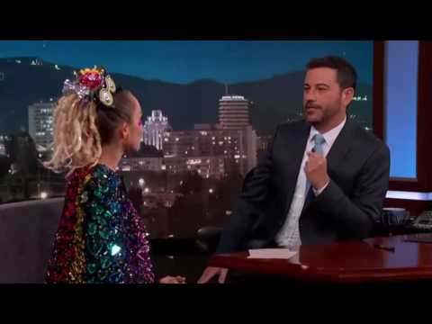 Miley Cyrus Interview In Sexy Dress