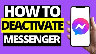 How To Temporarily Deactivate Messenger Account On Phone (2021)