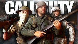 COD WW2 Funny Moments - Game Chat & Dolphin Diving!