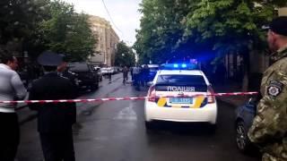 В центре Харькова избили полицейского