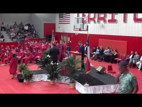 Groveton High School Graduation 5 31 2013 - Devon Meineke Diploma