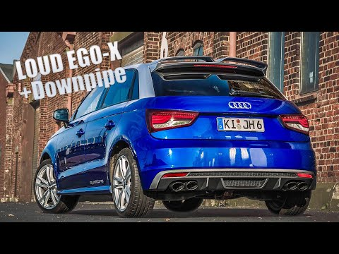 Audi S1 EGO-X Exhaust (270hp) - DRIVE & SOUND (60FPS)