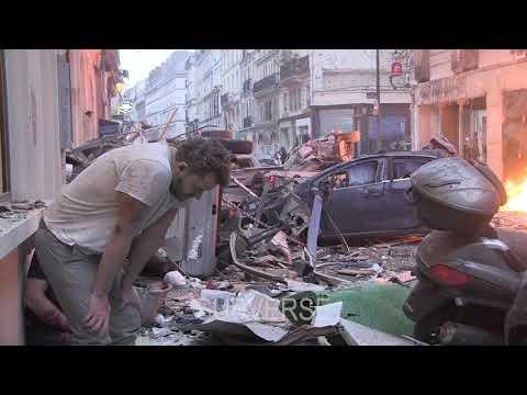 Fuerte explosión en París: hay 3 muertos y 5 heridos graves