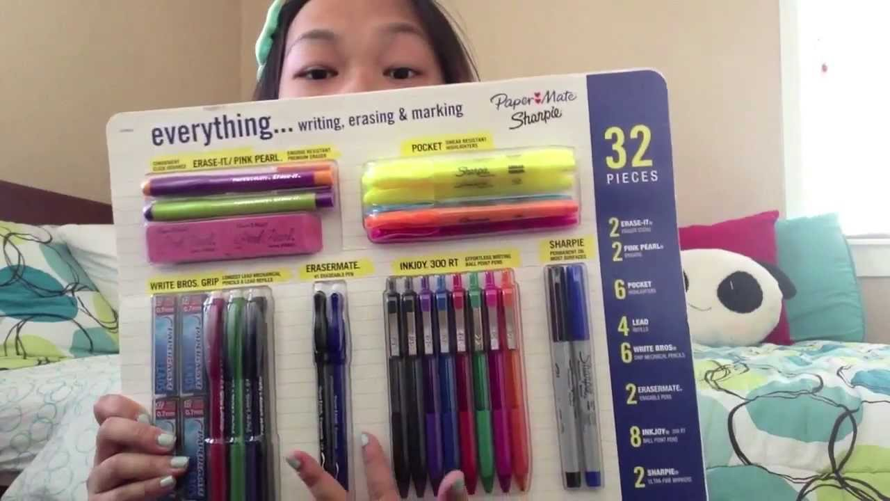Back To School Supplies Haul Giveaway Closed Youtube