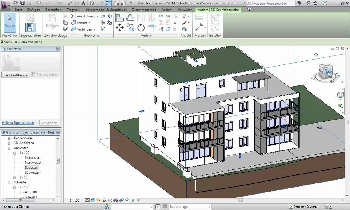 High Quality Planansichten Einfach Gemacht In Autodesk Revit Architecture 2011